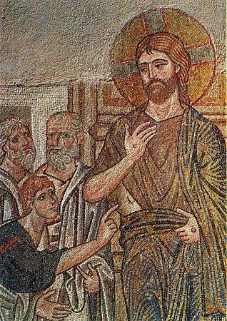 Апостол Фома и Господь наш Иисус Христос Воскресший